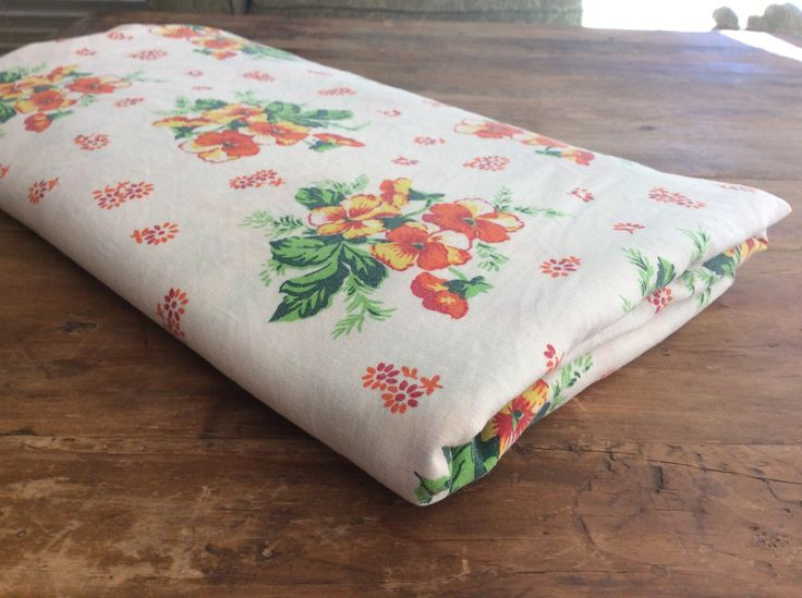 A personal favourite from my Etsy shop https://www.etsy.com/au/listing/477941498/1970s-vintage-floral-single-size-bed