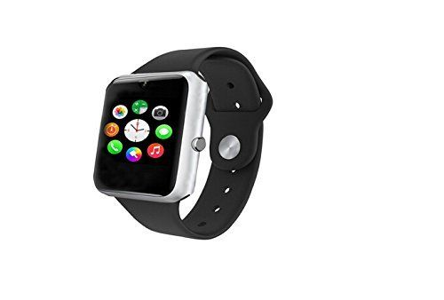 Surmos Q7S Smart bluetooth watch Support Phone Call SMS Music Player Pedometer Camera GPS Gprs Push Message Smartphone Watch (White)   Memory: 128 m + 64 m; The biggest support 32 gb TF cardDisplay: 1.54 inch TFT high clear LCD; 240 * 240 pixel resolutionTouch screen: 2.5 D radian c
