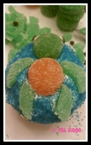 Squirt the Sea Turtle Cupcakes: Disney World Bake-It-Yourself Recipe (article with photos) - MouseTalesTravel.com