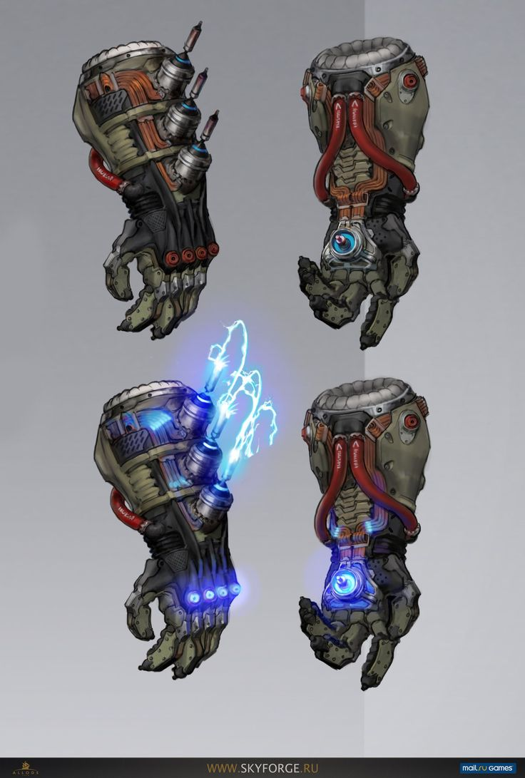 Anthony: i like the idea of our character having a gauntlet like weapon