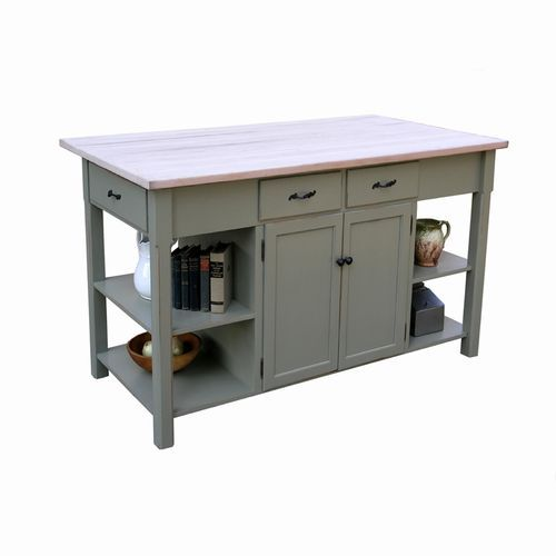 58 best images about kitchen table on pinterest kitchen work tables kitchen islands and - Butcher block kitchen work table ...