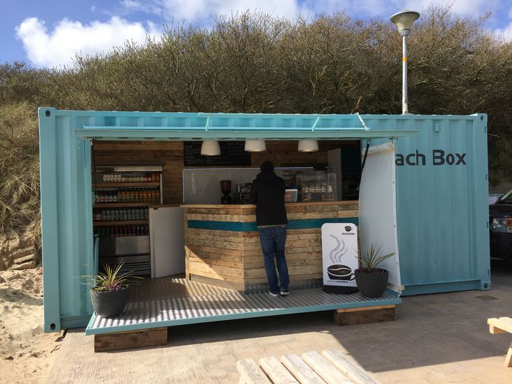 Quality Container Conversion into Take-away Cafe in Business, Office &…