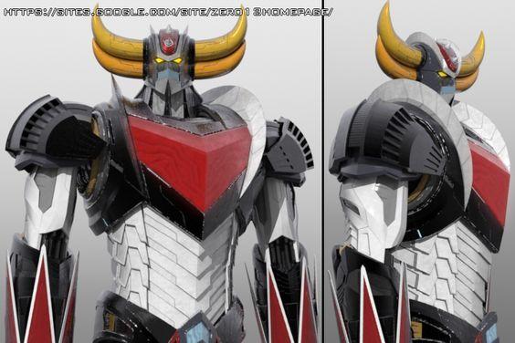 Grendizer / Goldrake V3 -   Anime / Manga Ufo Robot Grendizer / Goldrake -  3D model by Zero13 (Cristian Giuseppone)