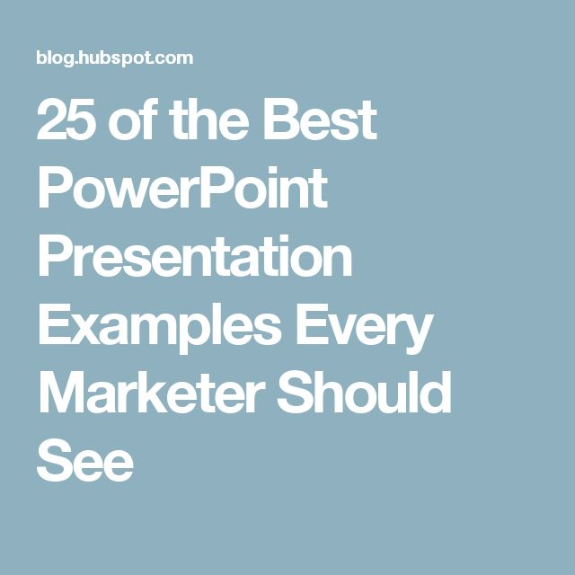 Best  Powerpoint Presentation Examples Ideas On