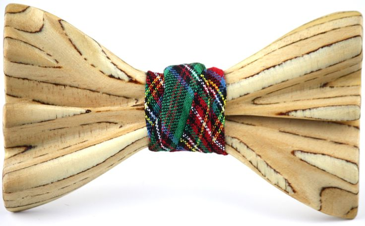 The Johnny Harris Wooden Bow Tie