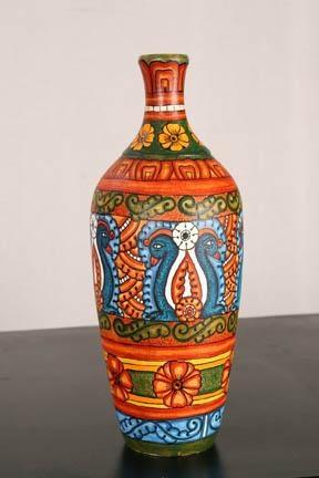kerala mural art paintings on pot - Google Search
