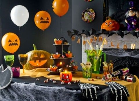 halloween party ideas halloween party decorkids - Kids Halloween Party Decorations