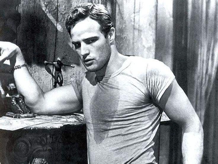 Marlon Brando in A tramway named desire