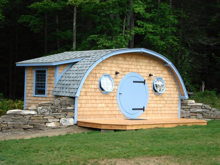 18 best hobbit hole cottages images on pinterest small for Small house plans maine