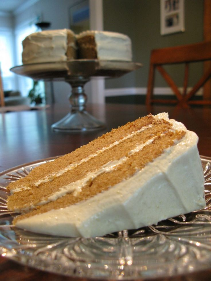 Paleo Spice Cake with Maple Cashew Frosting