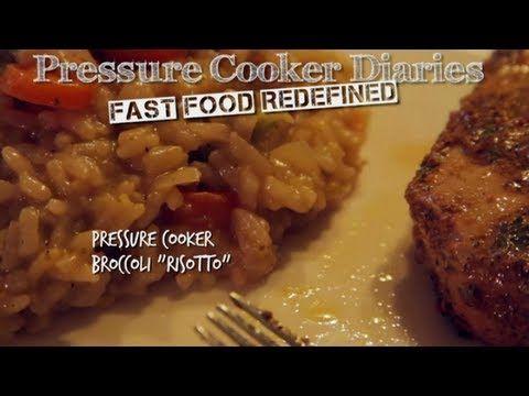 How to Make Risotto: Pressure Cooker Broccoli Risotto - Pressure Cooker Diaries