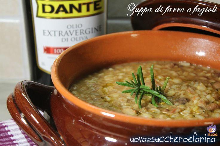 La zuppa di farro e fagioli è un'ottima idea per la cena di queste fredde sere invernali; di solito viene servita come piatto unico.