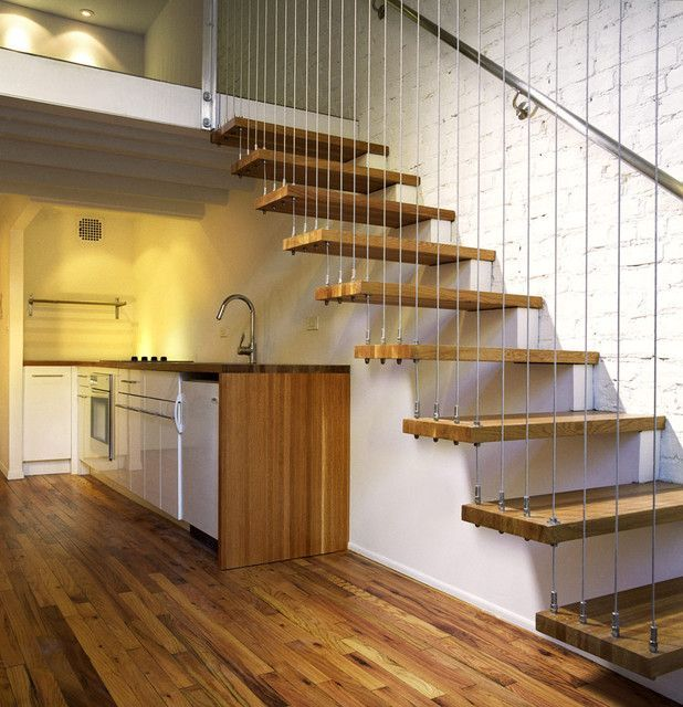 Best Hanging Stairs Design Incredible Hanging Stairs Design Cable Suspended Stairs Architecture 400 x 300
