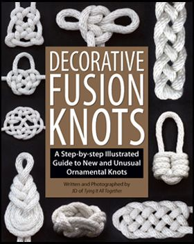 How to tie a variety of ornamental knots