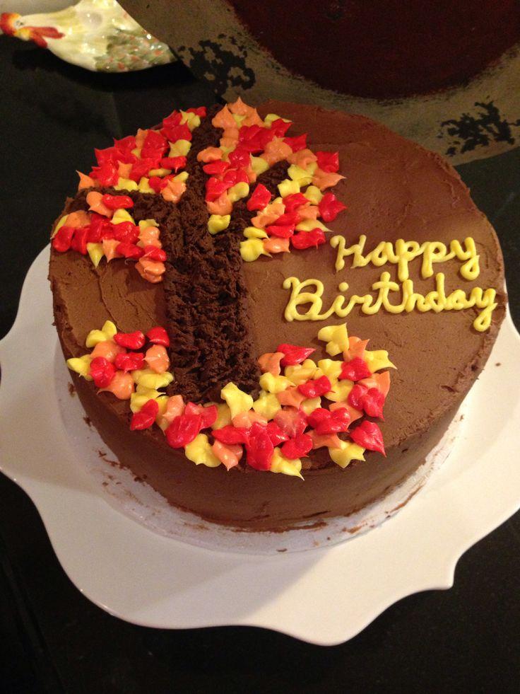 Gillian Arnold's Autumn birthday cake | Sweet Tooth | Pinterest
