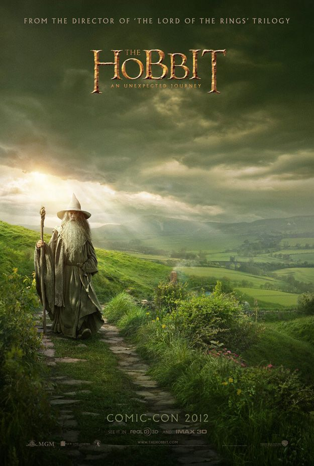 Peter Jackson Unveils New Poster for The Hobbit  I think they're now finished filming!!