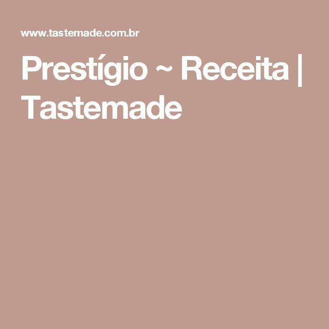 Prestígio ~ Receita | Tastemade