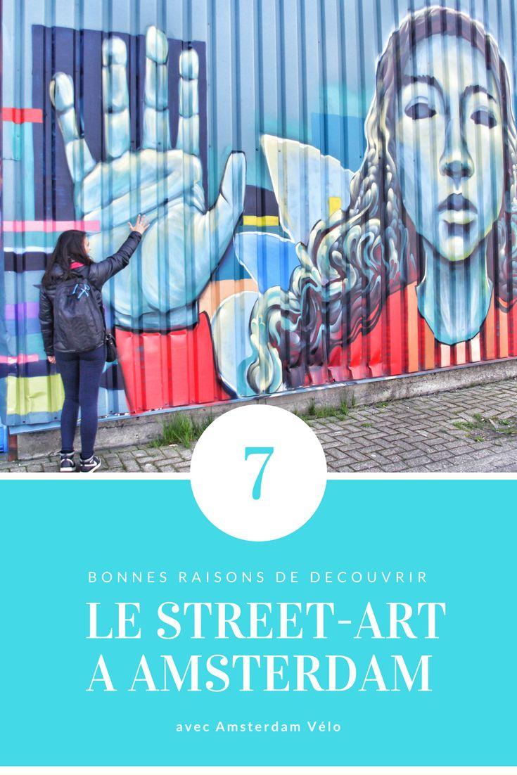 Balade à vélo dans le street-art à Amsterdam