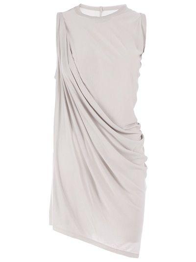 RICK OWENS - draped sleeveless dress 6