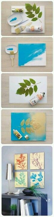 You can make your own pictures. Picture frame DIY spray can some paint & some out door items like leaves, leafs & sticks. Good gift idea.