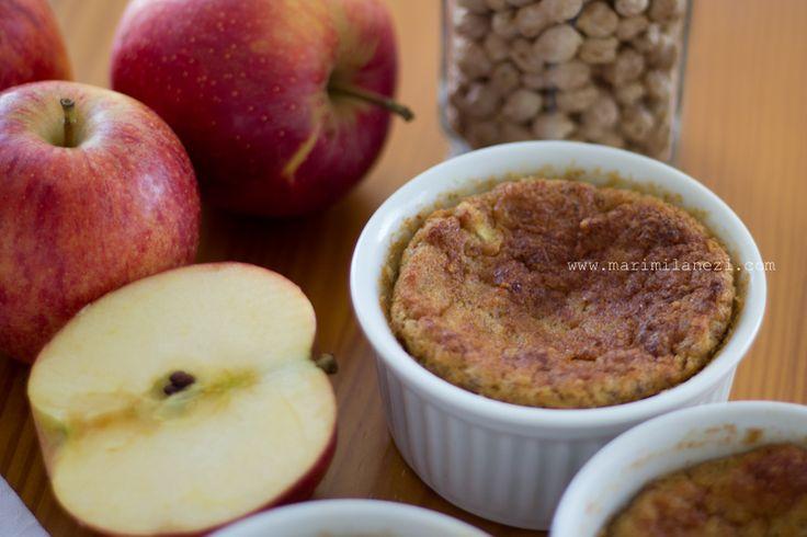 Bolo de maçã de grão de bico – À Milanesa – Receitas para intolerantes