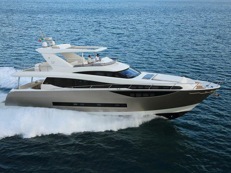 The luxurious Prestige 750 from Matthew Willett Marine.