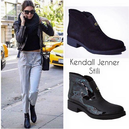 Kendall Jenner stili için kombininizi 7094 GARDA BOT modeli ile tamamlayabilirisniz. Hakiki deri Maskulen tarz Rugan ve süet seçeneği #kendalljenner #style #moda #streetfashion #sokakmodasi #boots #bot #black #siyah #ayakkabimcantam Sipariş için; http://www.ayakkabimcantam.com/catinfo.asp?src=7094&imageField2.x=0&imageField2.y=0