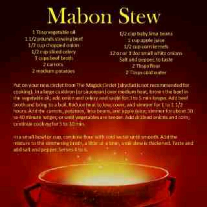 Image result for mabon cooking