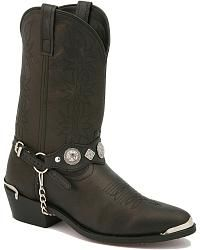 Dingo Concho Harness Cowboy Boots Sheplers