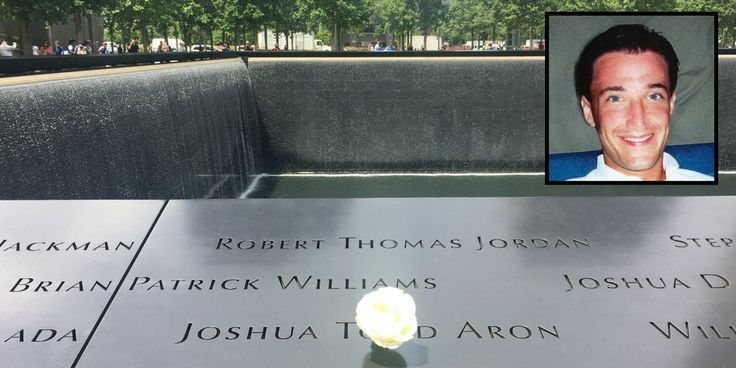 On June 29th 2017 a white rose was placed at Joshua Todd Aron's name on the 911 Memorial in honor of his 45th birthday.