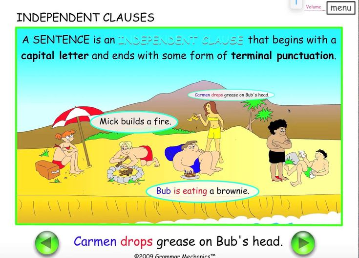 Independent Clauses - English Grammar - Easy English Grammar