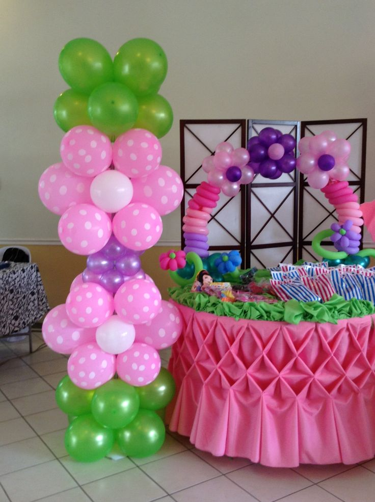 Balloon column stand design balloon cake arch design for Balloon cake decoration