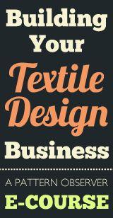 Building your textile design business