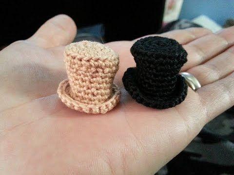 How to Crochet a Mini Sun Hat - Free Crochet Pattern - YouTube