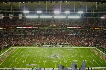 Georgia Dome: where to root for the Atlanta Falcons: top sports bars in New York, Washington, DC, California, and Georgia - of course!