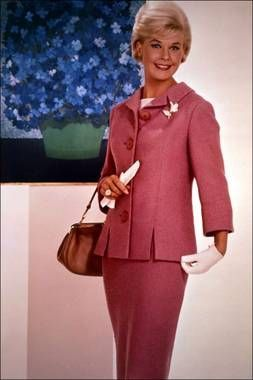 Doris Day in pink. #tcmSUTSblogathon #DayTCM...She loves Doris Day, she is her all-time favorite movie star....