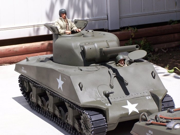 M4a3 Sherman Tank From Plastic Panzers Gi Joes And