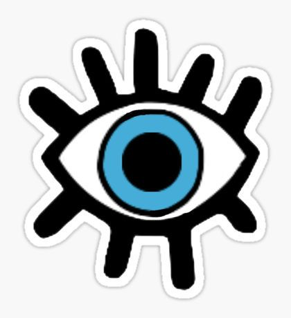 Evil Eye: Stickers | Redbubble