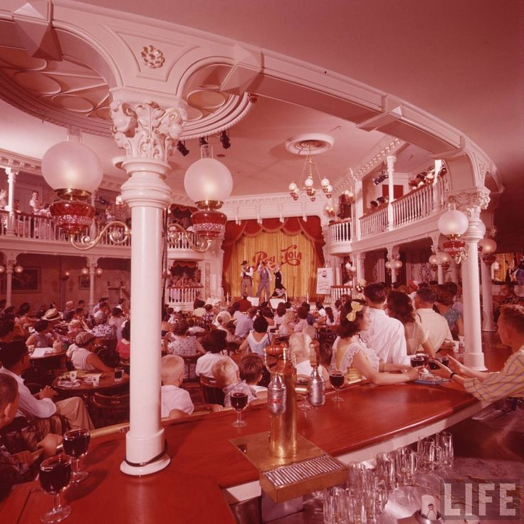 Golden Horseshoe Revue Disneyland 50's