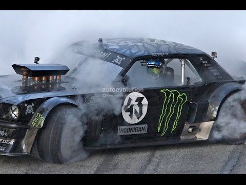 KEN BLOCK'S GYMKHANA 7 (Ford Mustang 4x4 with 845Hp) - YouTube