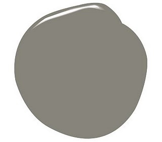 Chelsea Gray paint - possibly for kitchen cabinets..my new fave thanks to the May SL article and my friends Tessa and Camilee!