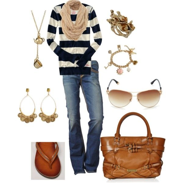 tan and navy, created by #kristafliss on #polyvore. #fashion #style American Eagle Outfitters #Burberry: Fall Style, Dreams Closet, Fashion Style, American Eagles Outfitters, True Religion Jeans, American Eagle Outfitters, Fall Fashion, Currently, Navy