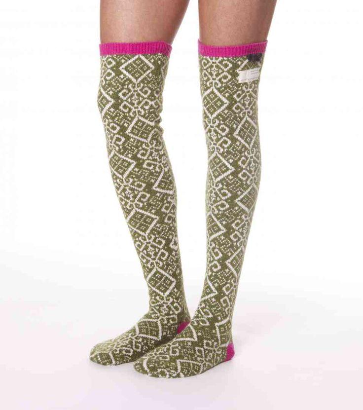 jacquard long sock from Odd Molly