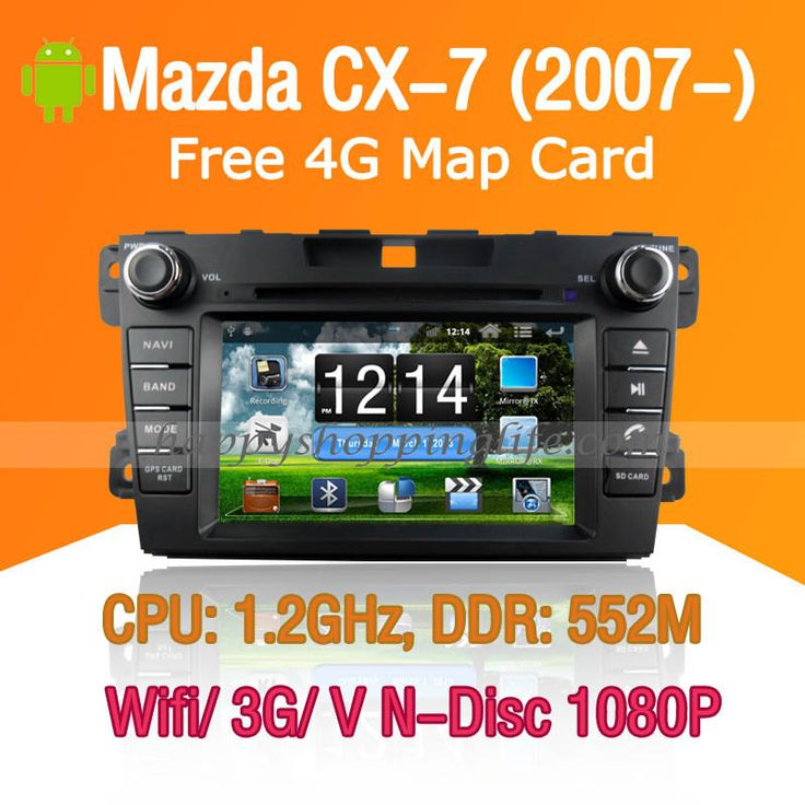 Mazda CX-7 Car DVD GPS Navigation Android