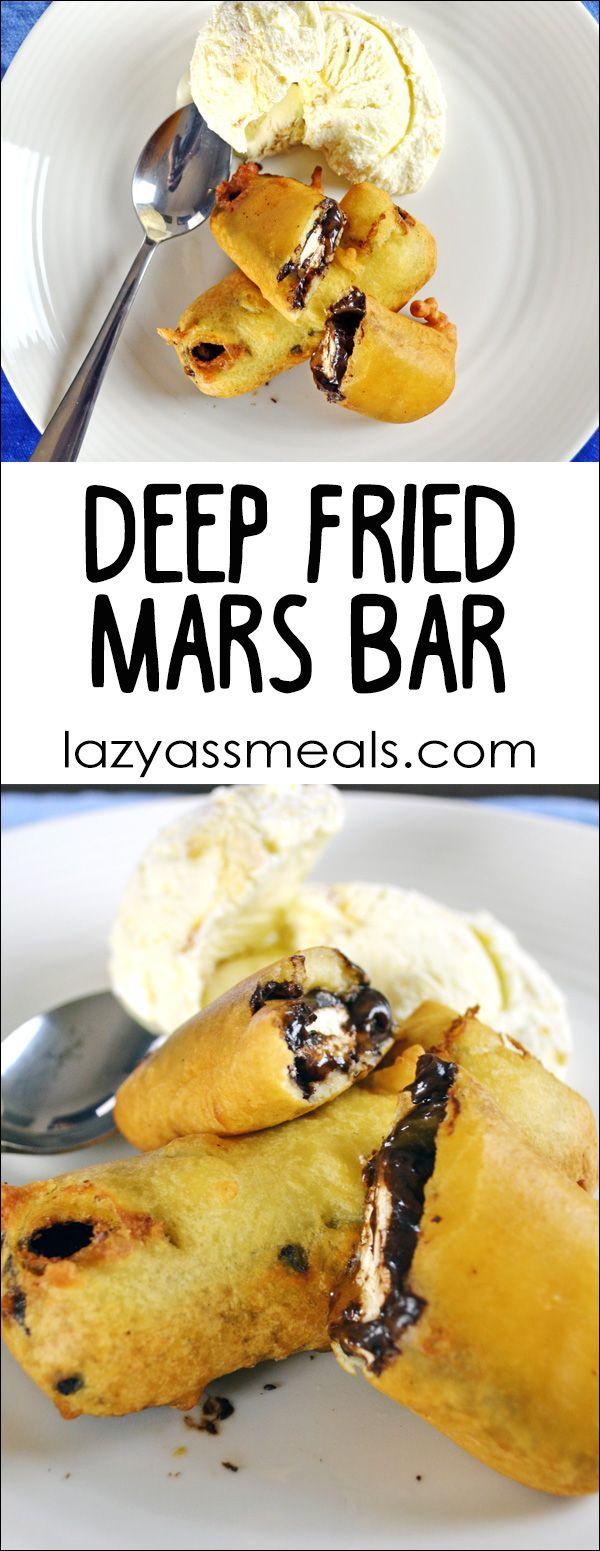 A Simple Irresistible Deep Fried Mars Bar Recipe