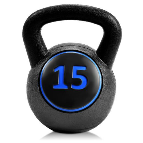 Fitness Kettlebell Exercise Body Weight Loss Strength Training Workout 5-45lbs
