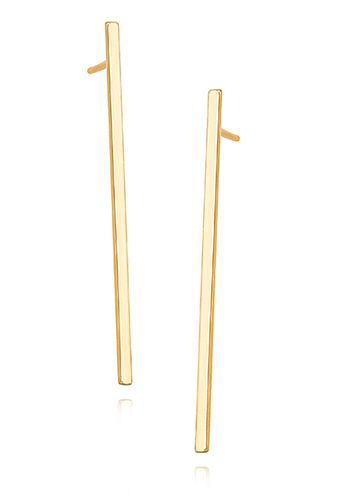 Aros Claire  - Plata 925 Chapado en Oro  SKU: Z1318E_G    Dimensiones: - 38mm x 1,3mm  Terminación: Chapado en oro  Origen: Europa    Aros de plata 925 chapado en oro. Diseño simple y elegante. Cierre con tornillo.