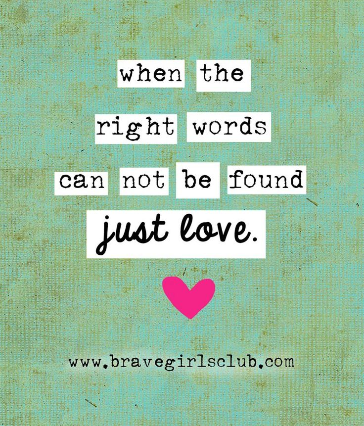 when the right words cannot be found…