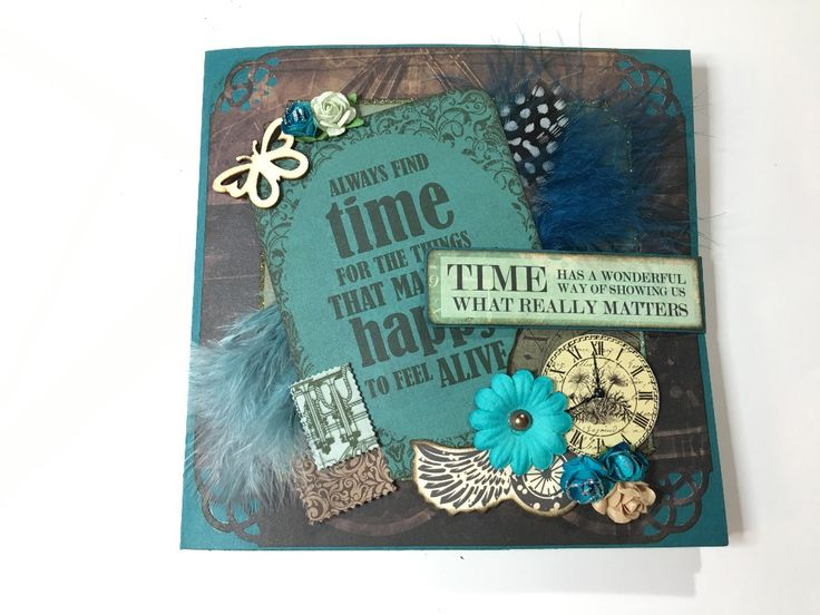 Timeless – a Fun & Unique Wallet Card with Kaisercraft's Time Machine collection | Creator's Image Studio
