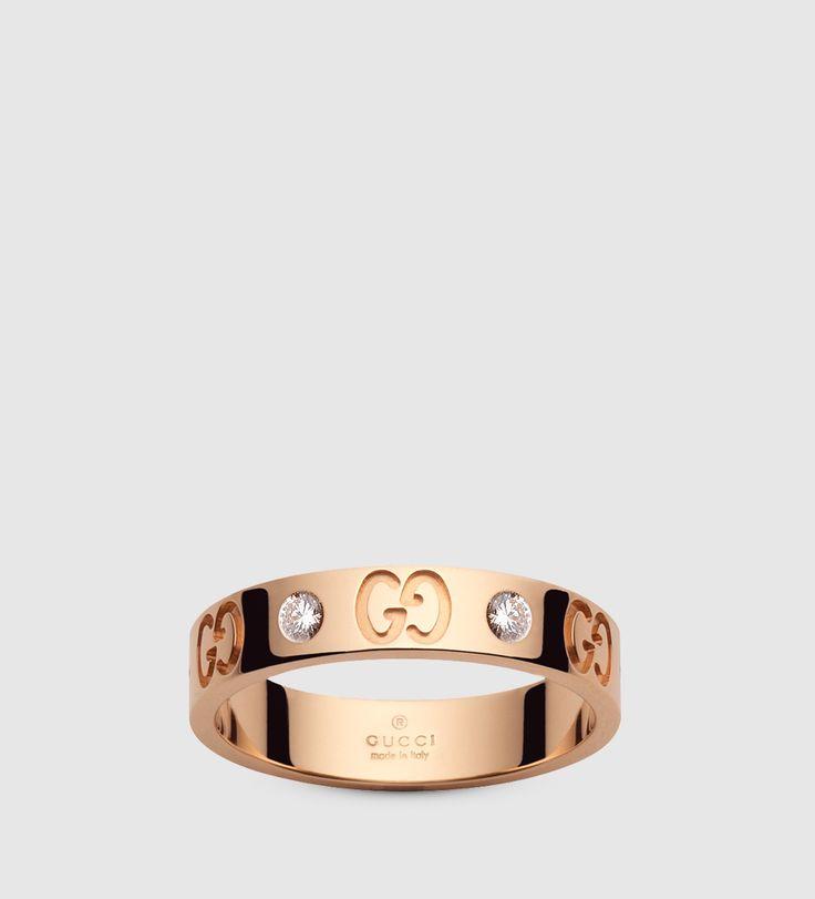 「ピンクゴールド アイコンリング」 グッチの結婚指輪・マリッジリングの一覧。